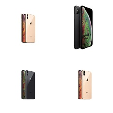 10 Pcs - Apple iPhone XS Max 64GB - Unlocked - Certified Refurbished GRADE A