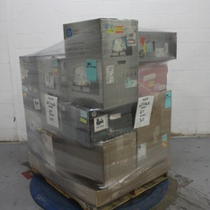 Pallet – 16 Pcs – Desktop Computers – Scrap – HP, CyberpowerPC, DELL