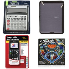 7 Pcs – Office Supplies, Other, Calculators, Books – Customer Returns – Member's Mark, Five Star, Pen + Gear