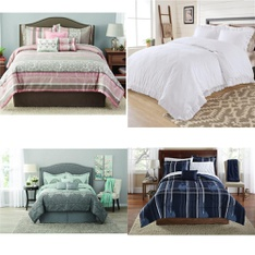36 Pcs - Comforters and Duvets - Like New, New Damaged Box, Used - Retail Ready - Mainstay's, Better Homes & Gardens, Mainstays, Better Homes and Gardens