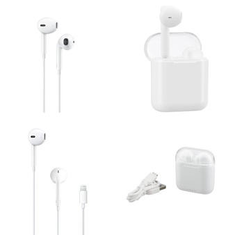 6 Pallets – 2368 Pcs – In Ear Headphones, Lamps, Parts & Accessories, Other, Over Ear Headphones – Customer Returns – Apple, Onn, Blackweb, One For All