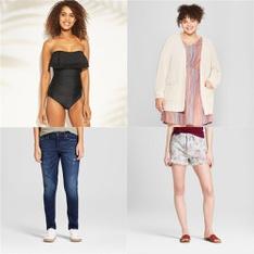 89 Pcs - T-Shirts, Polos, Sweaters & Cardigans, Underwear, Intimates, Sleepwear & Socks - New, Open Box Like New, Like New - Retail Ready - C9 Champion, Universal Thread, Xhilaration, Mossimo