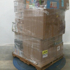 Pallet – 49 Pcs – Vehicles, Trains & RC, Action Figures, Not Powered – Customer Returns – New Bright, Adventure Force, Sky Rover, LeapFrog