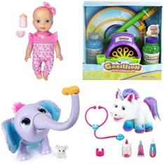 26 Pcs - Toys - Open Box Like New, Used, Like New - Retail Ready - Luvabella, Little Live Pets, Gazillion Bubbles, Wildluvs