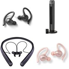 Half Truckload - 13 Pallets - 523 Pcs - In Ear Headphones, Covers, Mattress Pads & Toppers, Over Ear Headphones, Pools & Water Fun - Customer Returns - Blackweb, Mainstay's, Onn, Mainstays