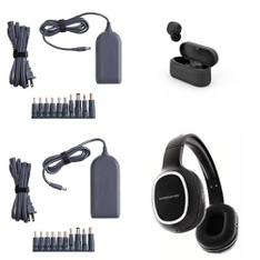 Pallet - 320 Pcs - Other, Over Ear Headphones, Power Adapters & Chargers, Keyboards & Mice - Customer Returns - Onn, onn., Anker, Monster