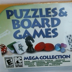 Hoyle 32922 Card Puzzle & Board Games (PC) - Brand New