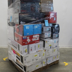 Pallet - 34 Pcs - Speakers, Portable Speakers, All-In-One - Customer Returns - Blackweb, Sony, LG, HP
