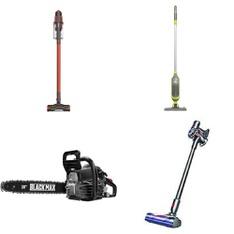 Pallet – 25 Pcs – Vacuums, Power Tools, Office, Camping & Hiking – Customer Returns – Shark, Hyper Tough, Black Max, Ozark Trail