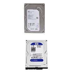 75 Pcs – Internal Computer Parts – Refurbished (GRADE A, GRADE B) – Seagate, Western Digital