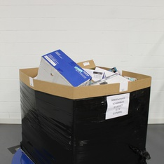 Pallet – 320 Pcs – Ink, Toner, Accessories & Supplies, Other, Keyboards & Mice, Portable Storage – Customer Returns – HP, Logitech, Brother, LD Products