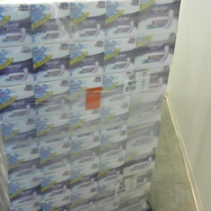 Pallet - 128 Pcs - Always 80330797 Discreet Incontinence Pads, Moderate Absorbency, 153 pads - Brand New - Always