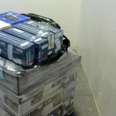 Pallet - 46 Pcs - Receivers, CD Players, Turntables, DVD & Blu-ray Players - Customer Returns - Victrola, Antop, onn.