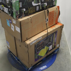 3 Pallets – 27 Pcs – Video Game Consoles – Other – Customer Returns – ARCADE1up, Arcade 1UP