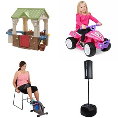 Pallet – 11 Pcs – Exercise & Fitness, Game Room – Customer Returns – GoZone, MD Sports, Future Stars, Disney Minnie Mouse