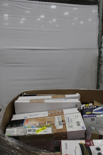 Pallet – 76 Pcs – Kitchen & Dining – Customer Returns – Mainstays, General Electric, PUR