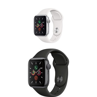 25 Pcs – Generation 5 Apple Watch – 40MM – Refurbished (GRADE A) – Models: MWV62LL/A, MWV82LL/A