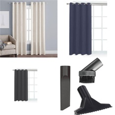 Pallet - 123 Pcs - Curtains & Window Coverings, Kitchen & Dining, Cleaning Supplies, Blankets, Throws & Quilts - Customer Returns - HomeTrends, Mainstays, Mainstay's, Unique Industries