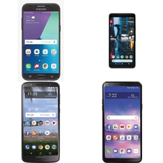 CLEARANCE! 100 Pcs – Cellular Phones – Refurbished (GRADE A, GRADE B, GRADE C – Not Activated) – LG, Motorola, Samsung, Google Chromecast