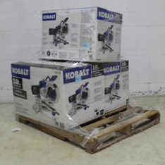 Pallet - 3 Pcs - Power Tools - Customer Returns - Kobalt