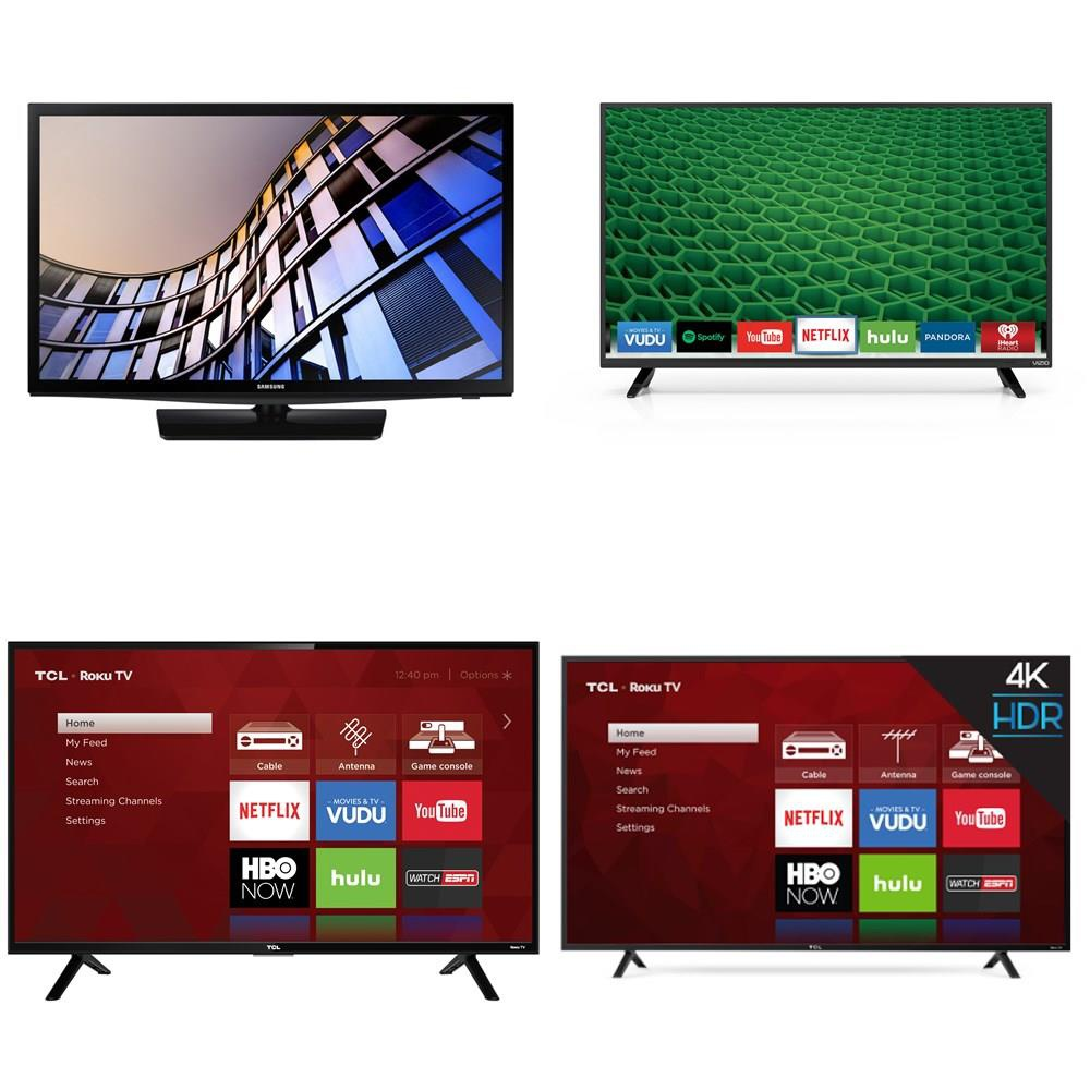 3 Pallets - 48 Pcs - TVs - Tested Not Working (Cracked Display) - VIZIO,  TCL, Samsung, LG