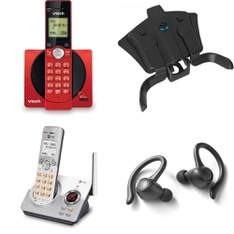 6 Pallets - 757 Pcs - Cordless / Corded Phones, In Ear Headphones, Cables & Adapters, Over Ear Headphones - Customer Returns - Blackweb, VTECH, Collective Minds, AT&T