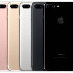 5 Pcs - Apple iPhone 7 Plus 32GB - Unlocked - Certified Refurbished (GRADE A)