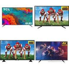 15 Pcs - LED/LCD TVs - Refurbished (GRADE A) - RCA, TCL, Philips, Samsung