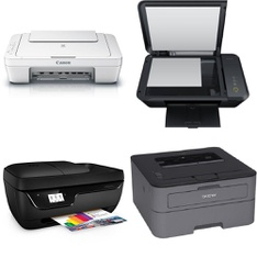 CLEARANCE! 403 Pcs - All-In-One, Inkjet, Laser, Ink, Toner, Accessories & Supplies - Customer Returns - HP, Canon, Brother, EPSON
