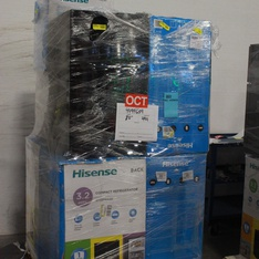 Pallet - 8 Pcs - Bar Refrigerators & Water Coolers - Customer Returns - HISENSE