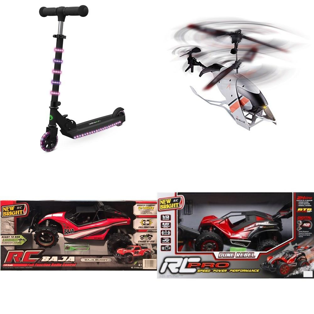 Walmart - Pallet - 69 Pcs - Vehicles, Trains & RC, Not Powered, Drones &  Quadcopters Vehicles, Dolls - Customer Returns - New Bright, Jetson,