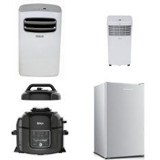 Pallet - 4 Pcs - Air Conditioners - Customer Returns - Ninja, Midea, Hamilton Beach, Curtis International