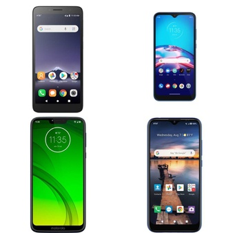 CLEARANCE! 8 Pcs – Cellular Phones – BRAND NEW – Not Activated – Motorola, ALCATEL, AT&T, Wiko