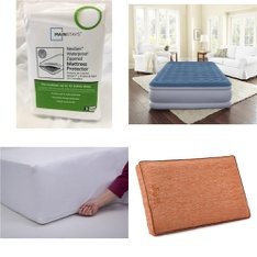 Pallet – 40 Pcs – Covers, Mattress Pads & Toppers, Comforters & Duvets – Customer Returns – Mainstays, Beautyrest, SPRINGS GLOBAL