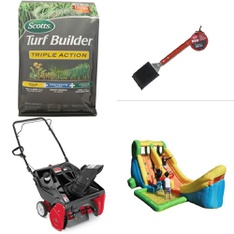 3 Pallets - 69 Pcs - Accessories, Snow Removal - Customer Returns - Scotts, Yard Machines, Tablecraft