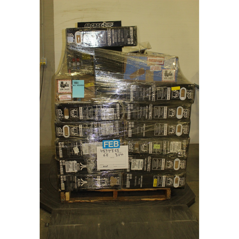 Pallet - 27 Pcs - Video Games - Other, Microsoft - Customer Returns -  Arcade 1UP, ARCADE1up, Microsoft