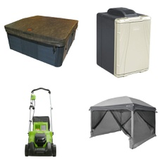 Pallet - 6 Pcs - Camping & Hiking, Hot Tubs & Saunas - Customer Returns - Canadian Spa Company, Coleman, HomeTrends, Remington