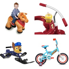 Pallet - 6 Pcs - Vehicles - Customer Returns - Paw Patrol, Nickelodeon, Disney, STABLE BUDDIES