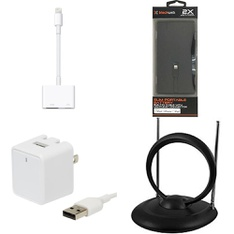 6 Pallets – 3481 Pcs – Accessories, Apple iPad, Other, Chargers – Customer Returns – Onn, Blackweb, Apple, Anker