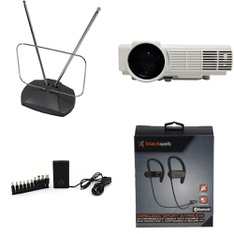 Pallet - 328 Pcs - Accessories, In Ear Headphones, Portable Speakers, Chargers - Customer Returns - Onn, Blackweb, RCA, Canon