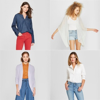 250 Pcs – T-Shirts, Polos, Sweaters & Cardigans – New – Retail Ready – Universal Thread, A New Day, Isabel Maternity by Ingrid & Isabel, Mad Love
