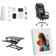 Pallet - 9 Pcs - Office, Security & Surveillance - Customer Returns - SimpliSafe, Serta, Mainstay's