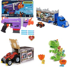 Pallet – 101 Pcs – Vehicles, Trains & RC, Unsorted, Water Guns & Foam Blasters, Dolls – Customer Returns – Nerf, SpinMaster, Hasbro, Monster Jam