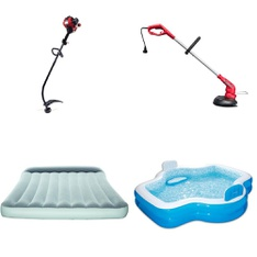 Half Truckload - 12 Pallets - 364 Pcs - Trimmers & Edgers, Camping & Hiking, Accessories, Pools & Water Fun - Customer Returns - Hyper Tough, Bestway, Mainstays, Summer Waves