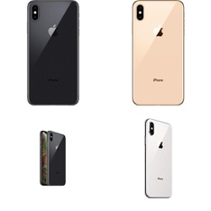 10 Pcs - Apple iPhone Xs Max - Refurbished (GRADE A - Unlocked) - Models: MT5D2LL/A, MT592LL/A, MT5C2LL/A, MT5A2LL/A
