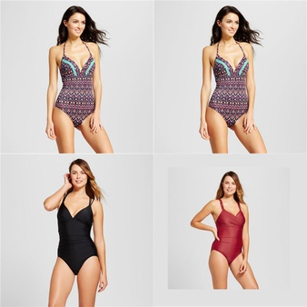 131 Pcs – Swimwear, Underwear, Intimates, Sleepwear & Socks, T-Shirts, Polos, Sweaters & Cardigans – Like New, Used, New – Retail Ready – Xhilaration, Shade & Shore, A New Day, Mossimo