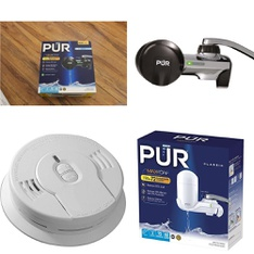 6 Pallets - 954 Pcs - Smoke Alarms & CO Detectors, Kitchen & Dining, Hardware - Customer Returns - Kidde, PUR, Kaz, Taylor Precision Products