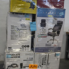 Pallet - 13 Pcs - General Merchandise - Power Tools, Storage & Organization - Customer Returns - Stanley, Space Solutions