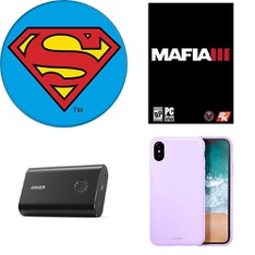 150 Pcs - Electronics & Accessories - New - Retail Ready - Heyday, CASE-MATE, PopSockets, LAUT