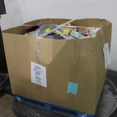6 Pallets - 4988 Pcs - Office Supplies, T-Shirts, Polos, Sweaters, Books, Arts & Crafts - Customer Returns - AT-A-GLANCE, Rich Cotton, Mead, K and Company